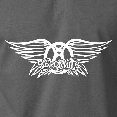 Steven Tyler Shirt (AEROSMITH Wings Logo T-Shirt Vintage Classic Rock Band Steven Tyler Gildan)