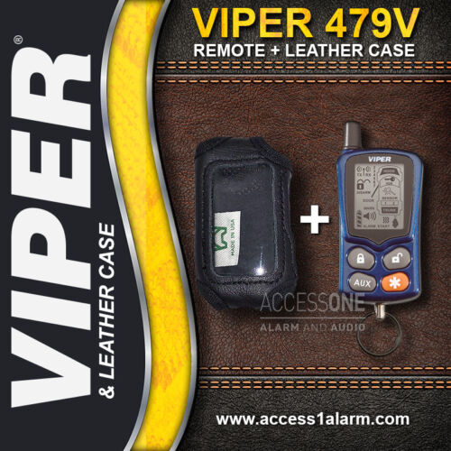 Viper 479V 2-Way LCD Remote Control With Leather Case
