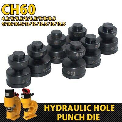 1 Set Black Round Hydraulic Hole Punch Die for CH-70 Hydraulic Punching Machine 1 Round Hole Die