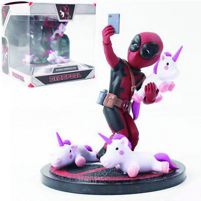 Marvel Deadpool Unicorn Selfie Q Figure 4