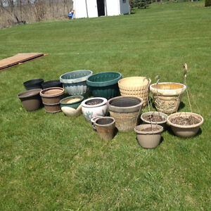 Miscellaneous Flower Pots