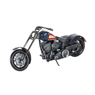 Harley Davidson Retro Classic Motorcycle Table Decoration Tin Model BEST TOY