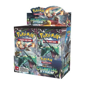POKEMON CELESTIAL STORM PACKS AND SINGLES