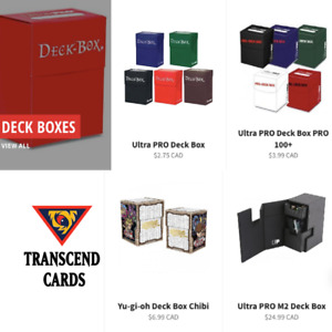 Ultra Pro Yugioh Deck Boxes for sale