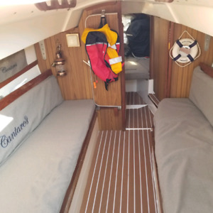 Tanzer 7.5 Sailboat  with almost new 9.9 Outboard