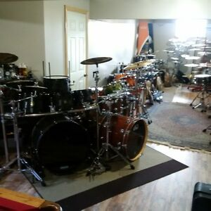 16 different drum kits PDP DW Pearl Tama Yamaha Sonor