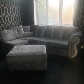 Verona corner sofa (delivery available)
