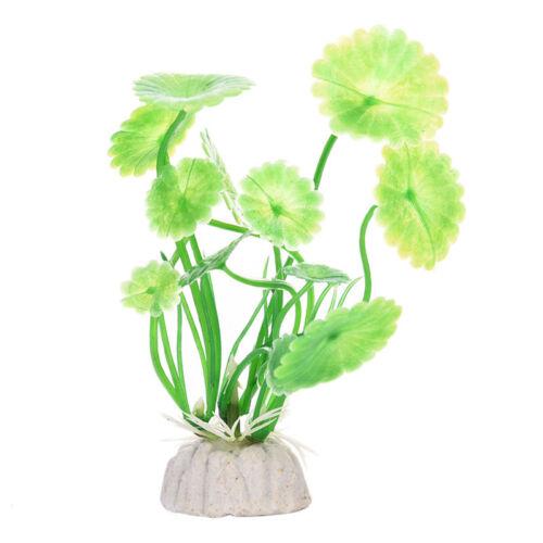 Aquarium Artificial Plants Water Grass Ornament Plant Fish Tank Plastic Decor Ebay
