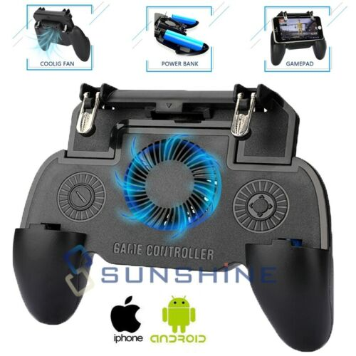 7 Joystick Compatible with All Smartphones for Apple iPhone 6 Cell Phone Game Controller Accessories 6s Samsung Galaxy s6 Color: Silver s8 etc s7