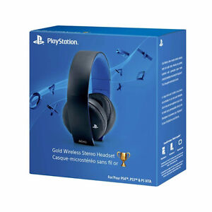 PlayStation 4 Gold Wireless Stereo Headset Cambridge Kitchener Area image 1