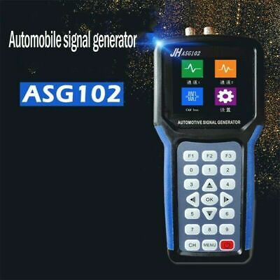 Asg102 Digital 2ch Car Automotive Signal Generator Can Data Function Blue