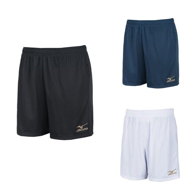 Mizuno Men/'s Sports Football Training Running Short Pants Black White Sz S-XL