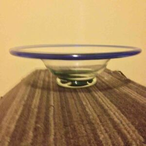 blow glass bowl for sale Strathcona County Edmonton Area image 1