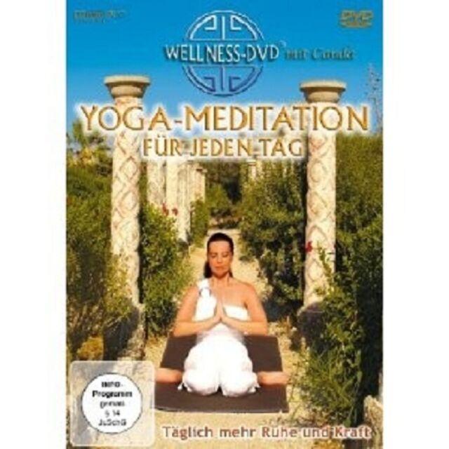 YOGA MEDITATION FÜR JEDEN TAG DVD NEU