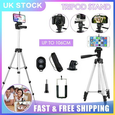 Pro Stretchable Tripod Stand For Digital Camera iPhone Samsung Huawei Remote Bag