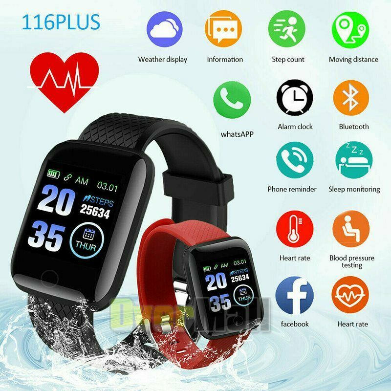 Smart Watch for Phone iOS Android Phone Bluetooth Waterproof