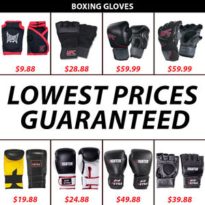 MMA Fighting Punching Sparring Grappling Boxing Gloves UFC