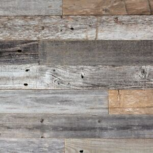 40sq. ft. box of Peel & Stick Barnwood. Pick up in Fall River
