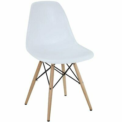 Pyramid Dining Side Chair in White