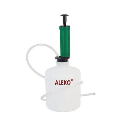 Aleko Oil And Fluid Extractor Pump For Automotive Fluids Lubricants 12 Galon