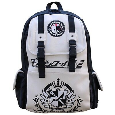Anime Dangan Ronpa danganronpa Monokuma Cute School Backpack Shoulder Bag New