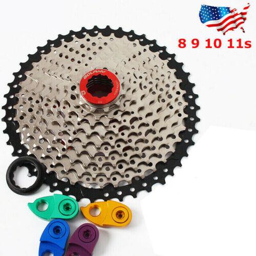 8 9 10 11Speed MTB Mountain Bike Cassette 40/42/46/50T Cog Sprocket fit Shimano