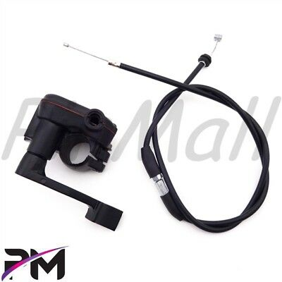 (Thumb Throttle Cable For 50cc 70cc 90cc 110cc 125cc ATV Kazuma Roketa Taotao)