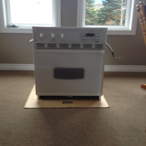 27 in Kenmore White Easy Clean Built-In Oven For Sale
