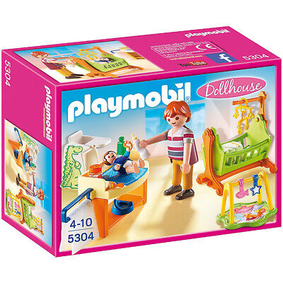 Playmobil Dollhouse Baby Room with Cradle 5304 NEW