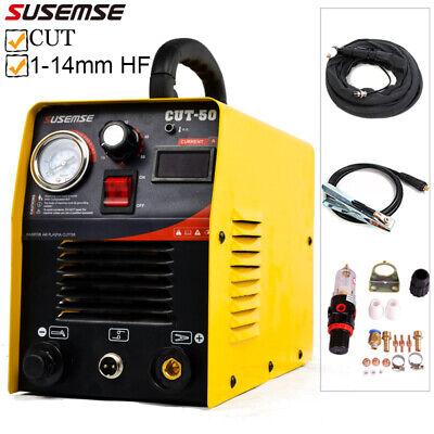 50amp Plasma Cutter Inverter 1-14mm Cut Air Plazma Metal Cutting Machine Torch