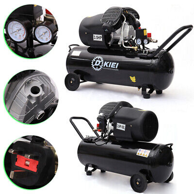 100L Litre Air Compressor 14.6CFM 3.5HP 8Bar Engine Gauge Portable 220V 115PSI