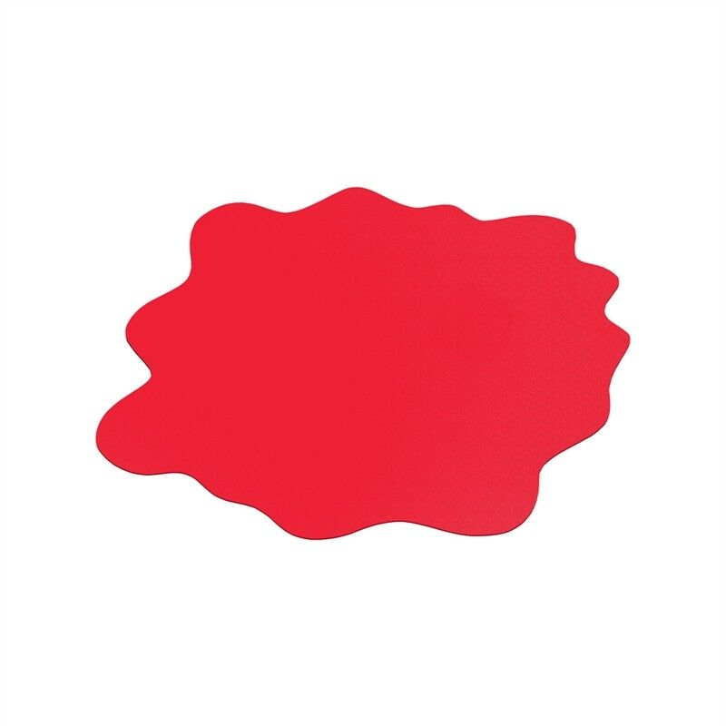 "CraftTex Sploshmat Play Mat For Hard Floors Red  40"" x 40"" (max)"