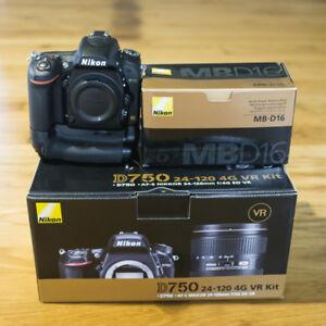 Nikon D750 + Nikkor 24-120 mm f4.0