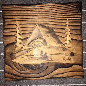 Sculpture sur bois AUDET