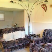 Furnised1.5 bedroom basement suite