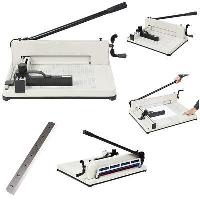 A4 Papierschneider Stapelschneider bis 400 Blatt Schneidemaschine Hebelschneider