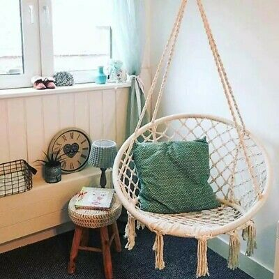 Small Hammock Safety Hanging Hammock Chair Swing indoor outdoor stand not includ