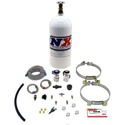 (Nitrous Express ML2000 MAINLINE EFI SINGLE NOZZLE  SYSTEM W/ 10LB BOTTLE)
