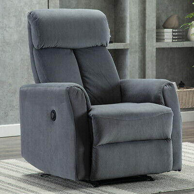 Electric Recliner Chair Free Angle Reclining Vevelt Overstuffed Heavy Duty Frame