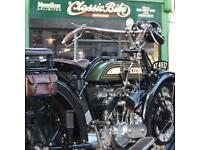 1921 BSA Model A 770cc Rare V Twin Classic Vintage Ex Ray Newell VMCC BSA Expert