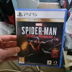PS5 GAME/ Marvel's Spider-Man: Miles Morales /mint condition like new