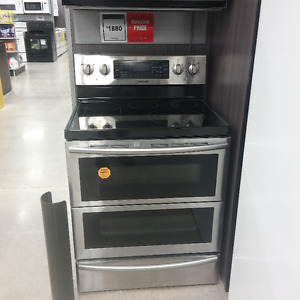 Brand New Samsung 30-Inch Smooth Surface Electric Stove