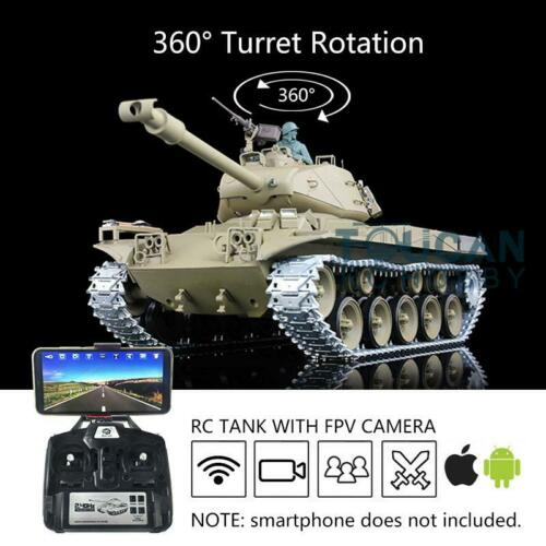 Henglong 1/16 Scale 6.0 Upgraded Walker Bulldog RC Tank FPV