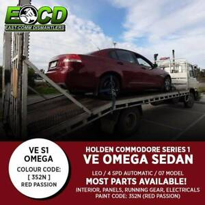 WRECKING Holden Commodore VE Series 1 V6 Omega Sedan 352N RED PASSION Pakenham Cardinia Area Preview