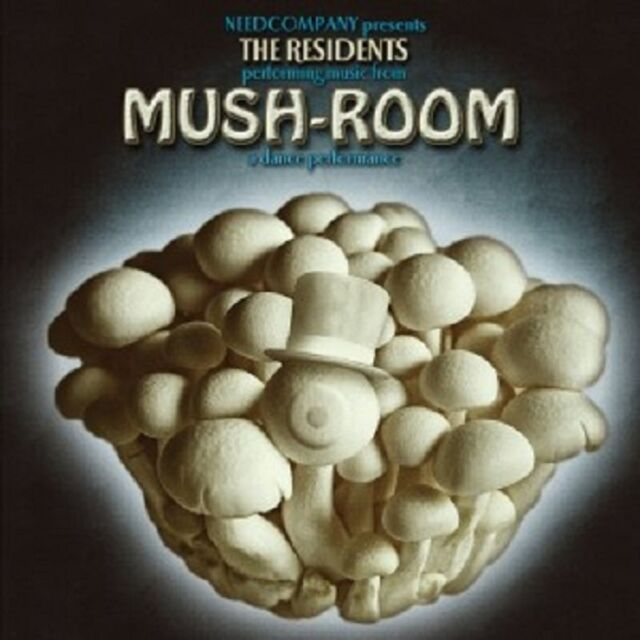 THE RESIDENTS - MUSH-ROOM  CD NEU