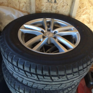 Toyota Snow tires on Alloy Rims