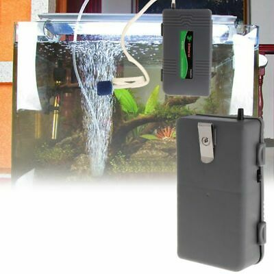 Air Pump Portable Aquarium Fish Tank Battery Powered Oxygen Aerator With Stone