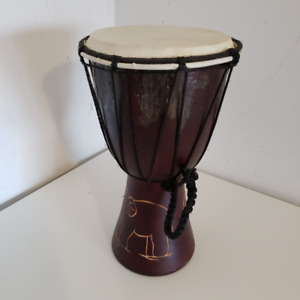12 INCH DEJEMBE DRUM, PERCUSSION TALL BUY 7 INCHES