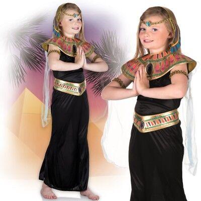 Mädchen Cleopatra Ägyptische Königin Kinder Kostüm Gr.110-116 Prinzessin #2121