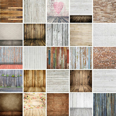 Wood Floor Photography Backdrops Photo Booth Vinyl Backgrounds for Photo Studio (Backdrops For Photo Booths)